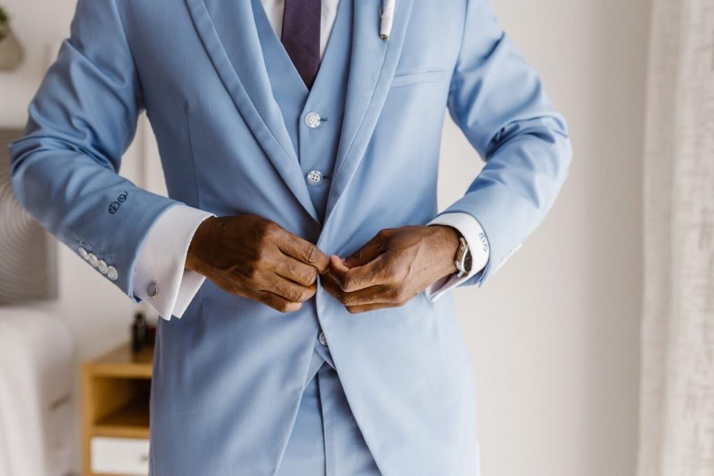 Jaquet azul cielo